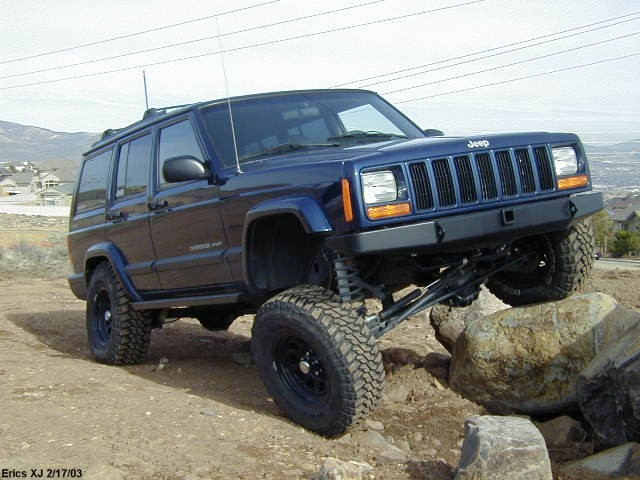 4.5 inch lift on 31's? - NAXJA Forums -::- North American ...