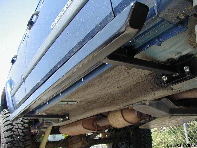 Xj Homemade Rock Sliders Nerf Bars Build Pics Page 3